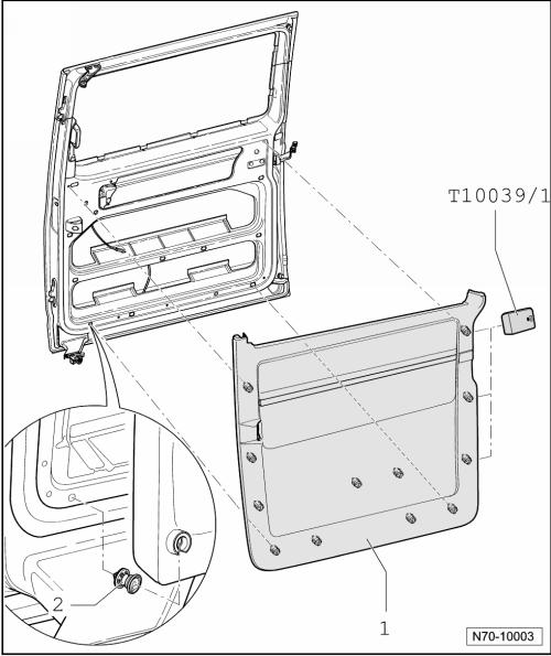 фольксваген т5 каравелла как снять обшивку