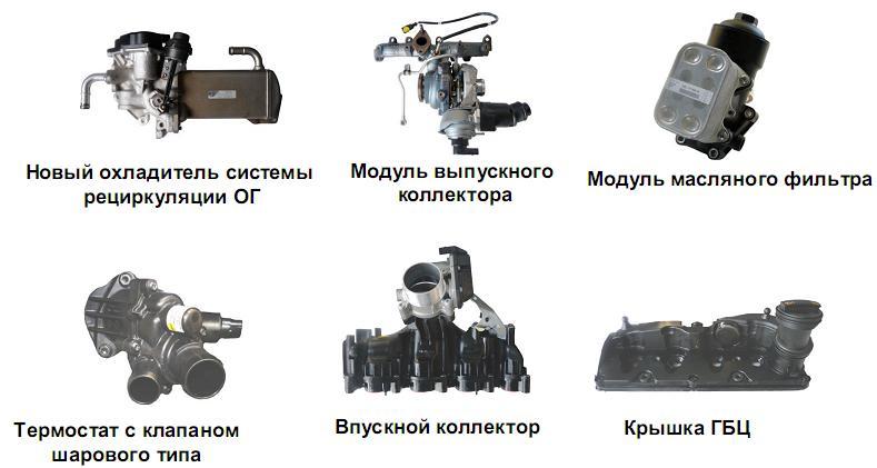элементов для модели Т5.